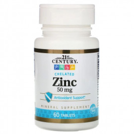 ZINC CHELATED 60 TABLETS -...