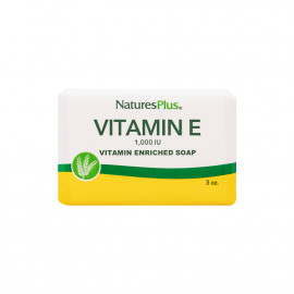 Nature's Plus, Savon Bio à la vitamine E, 3 oz