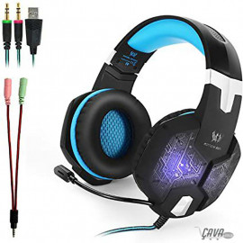 G1000 Casque Gamer 3.5mm,...